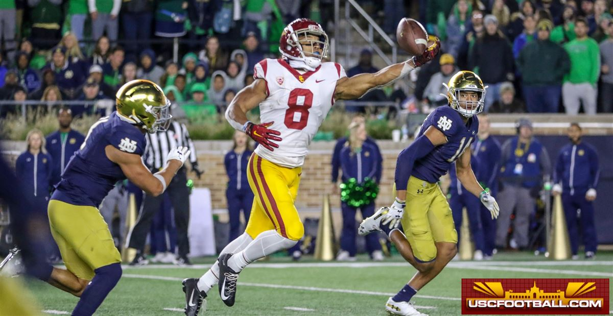 FILM STUDY: Breaking down key plays in USC's loss at Notre Dame