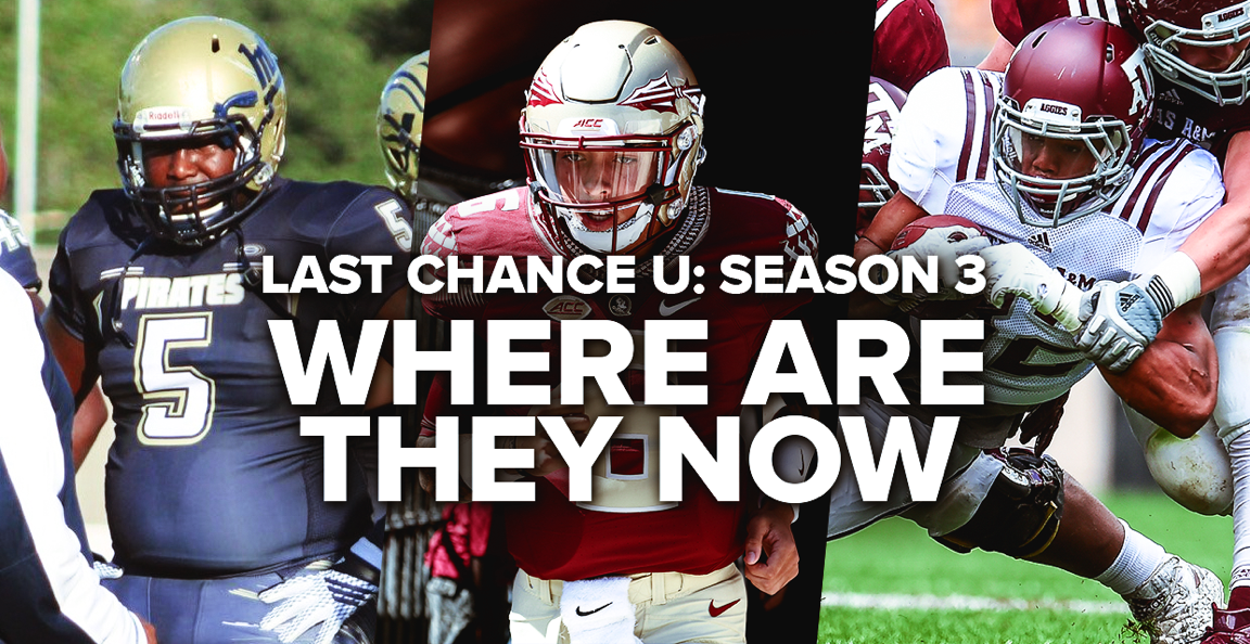 Last Chance U Season 3: Where are they now?