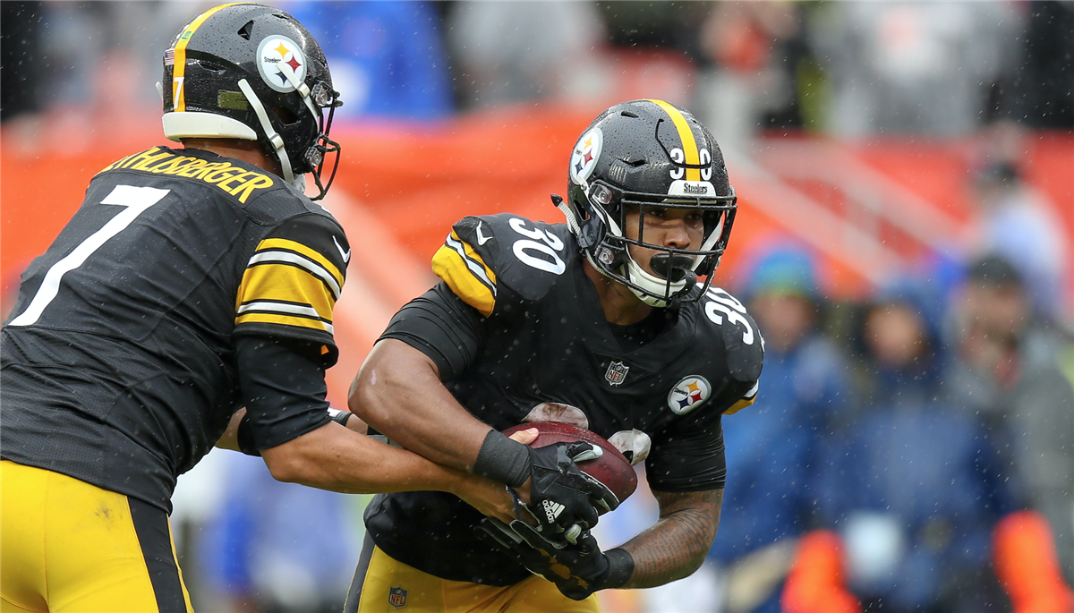 317f192d1d0 Steelers continue to rally behind James Conner