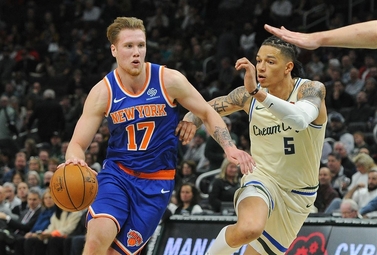Ignas Brazdeikis showing patience in first year as a pro