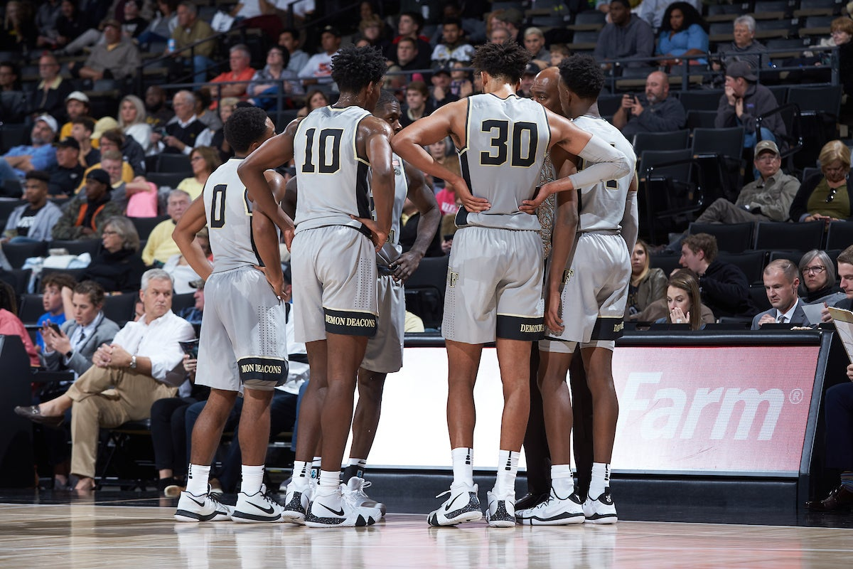 Wake Forest To Compete In 2019 Wooden Legacy