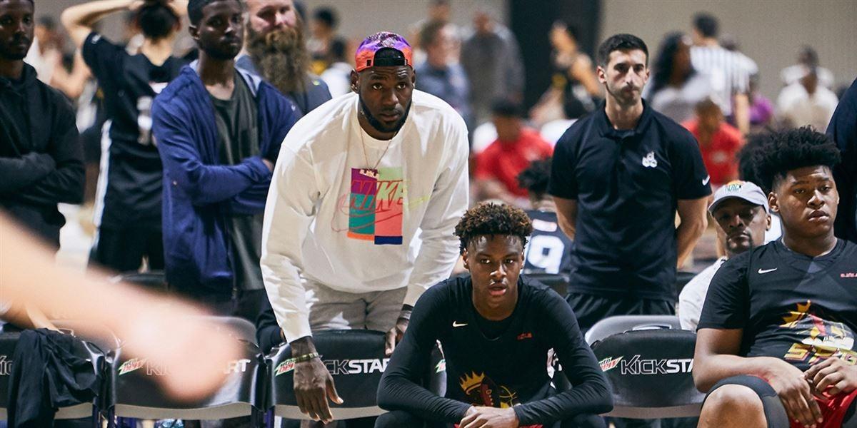Nike EYBL Notebook: Bronny James takes center stage