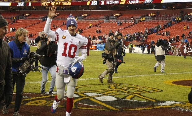 Eli Manning Names Eagles As Toughest Road Environment To Play In