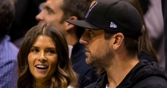 Aaron Rodgers alludes to details on Danica Patrick breakup