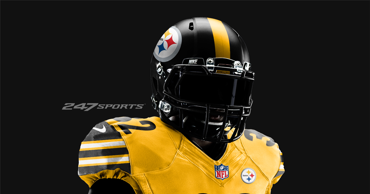 Check out the Pittsburgh Steelers all-gold jersey concept ... 869813340