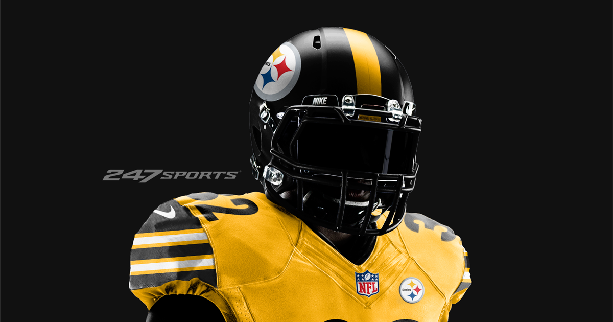 c6ee9204069 Check out the Pittsburgh Steelers  all-gold jersey concept
