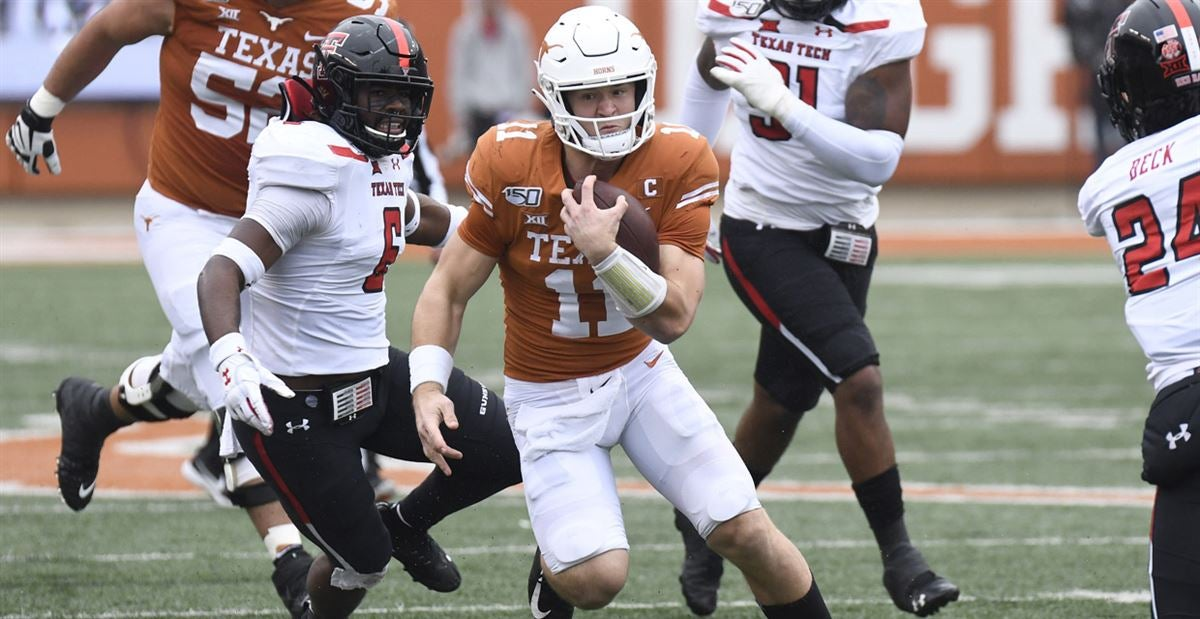 No name required for a Texas offense expected to evolve