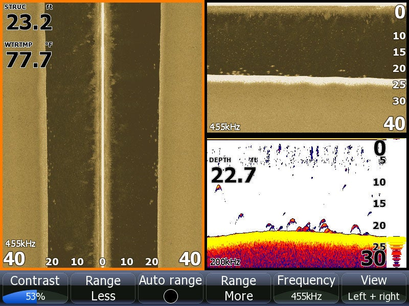 Finding Bass With Sonar Imaging And Mapping