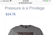 Pressure Is A Privilege Kirby Quote Already A Shirt