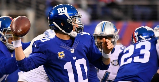 What time are the New York Giants playing tonight