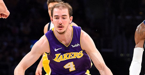 3249ec1e5 Lakers to call Alex Caruso up from G-League