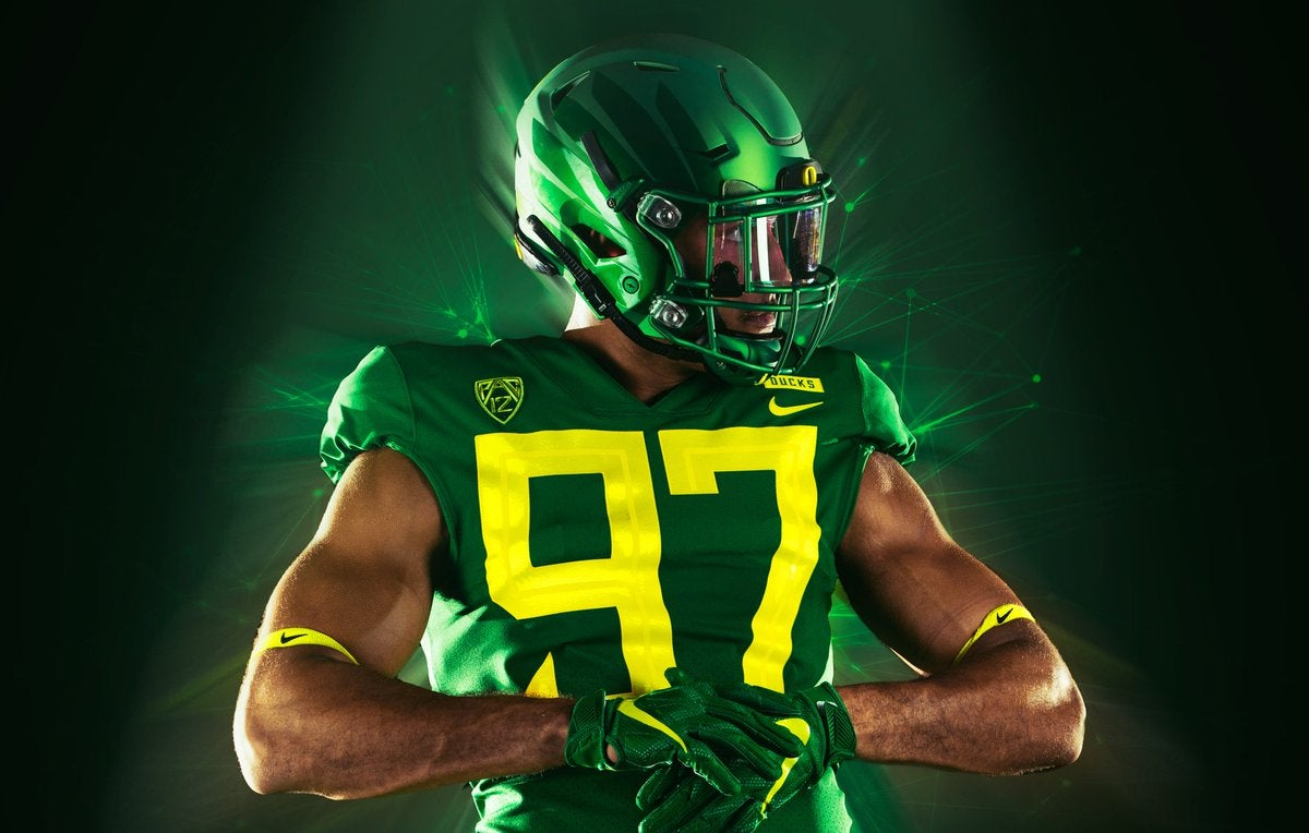 26d29fcd7 Oregon to wear Green uniforms against Portland State