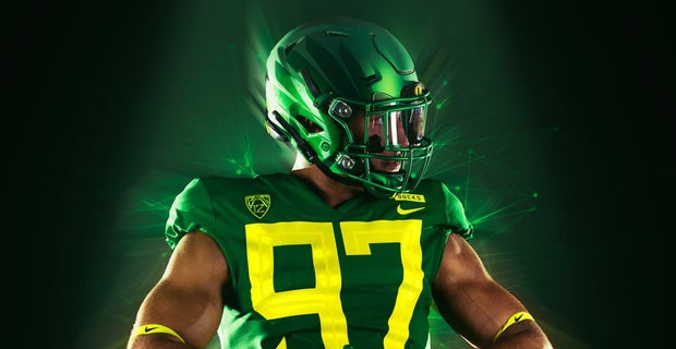 buy online 84988 948ee Oregon to wear Green uniforms against Portland State