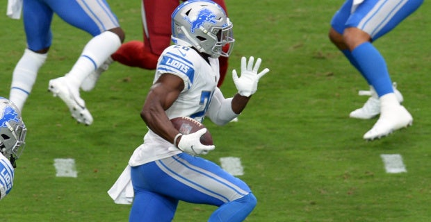 WATCH: Duron Harmon INT is Detroit Lions' first season turnover
