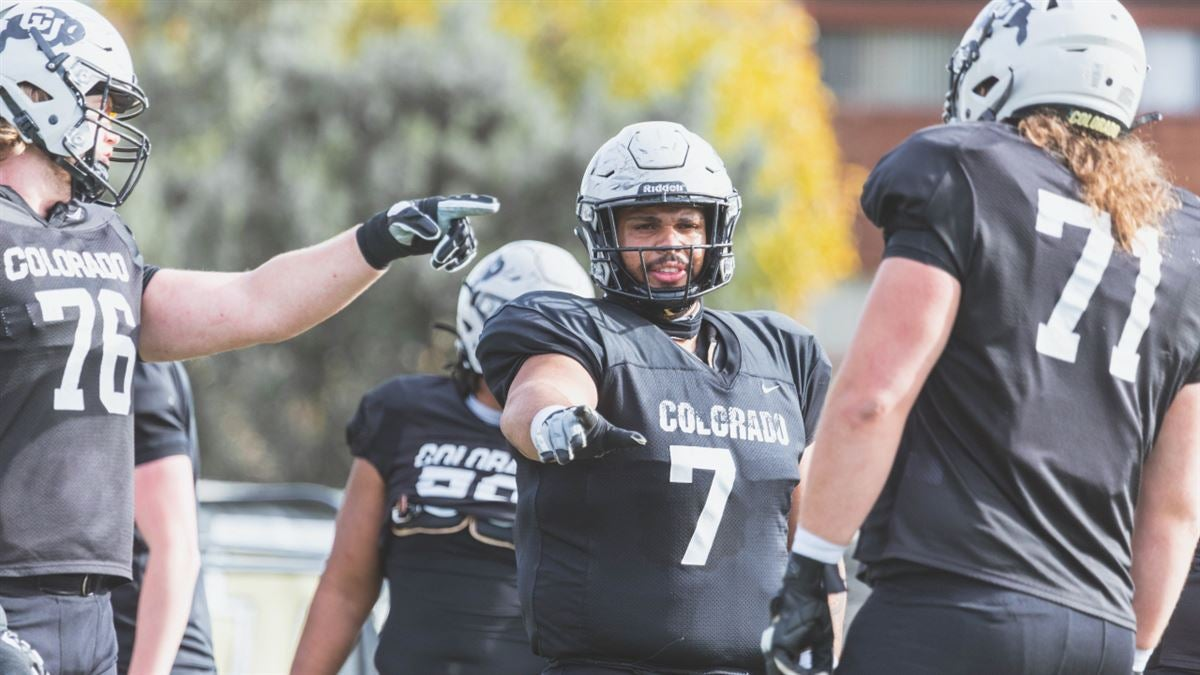 CU's offensive line was in the spotlight after Friday's practice