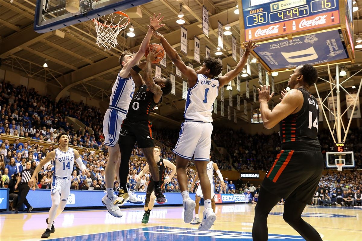 Duke jumps out to hot start against Miami, erasing recent issues