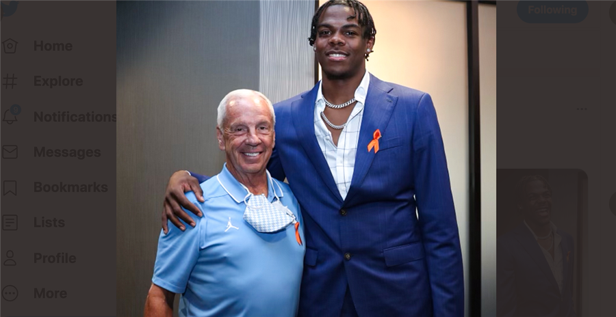 Inside former UNC star Day'Ron Sharpe's NBA draft party
