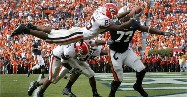 Georgia-Auburn: Five memorable UGA wins