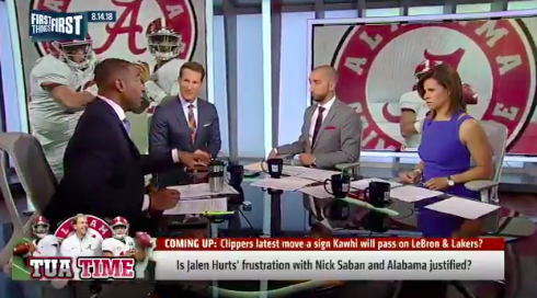 Danny Kanell says Nick Saban is being unfair to Jalen Hurts