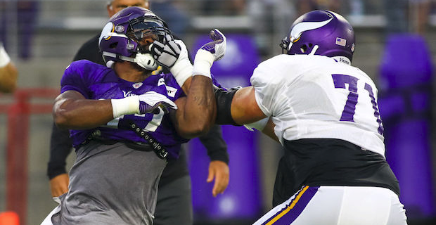 Vikings depth chart updated for Jaguars week