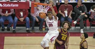 Hogs return to court on Wednesday night to face CSU Bakersfield