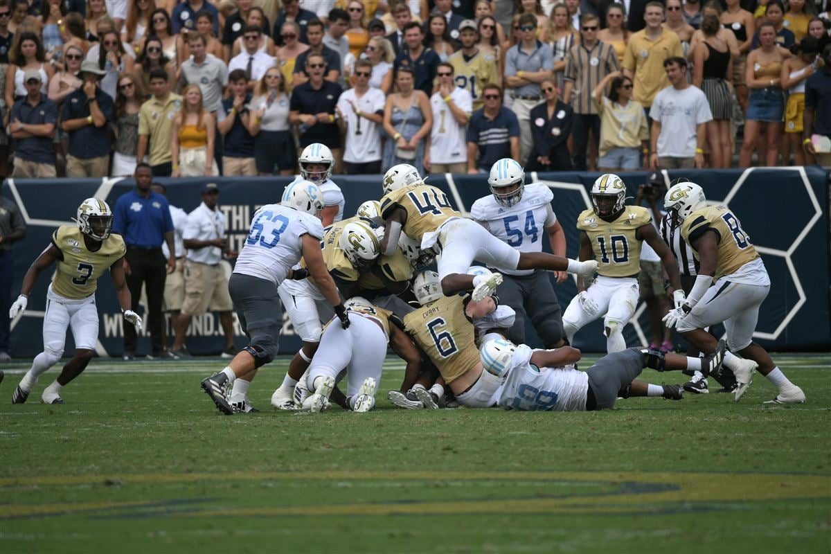 An Uncharacteristic Game for the Georgia Tech Defense