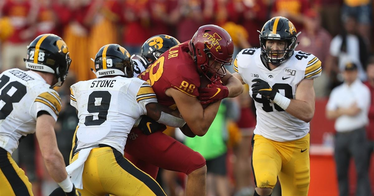 Young Iowa secondary grew up on Saturday