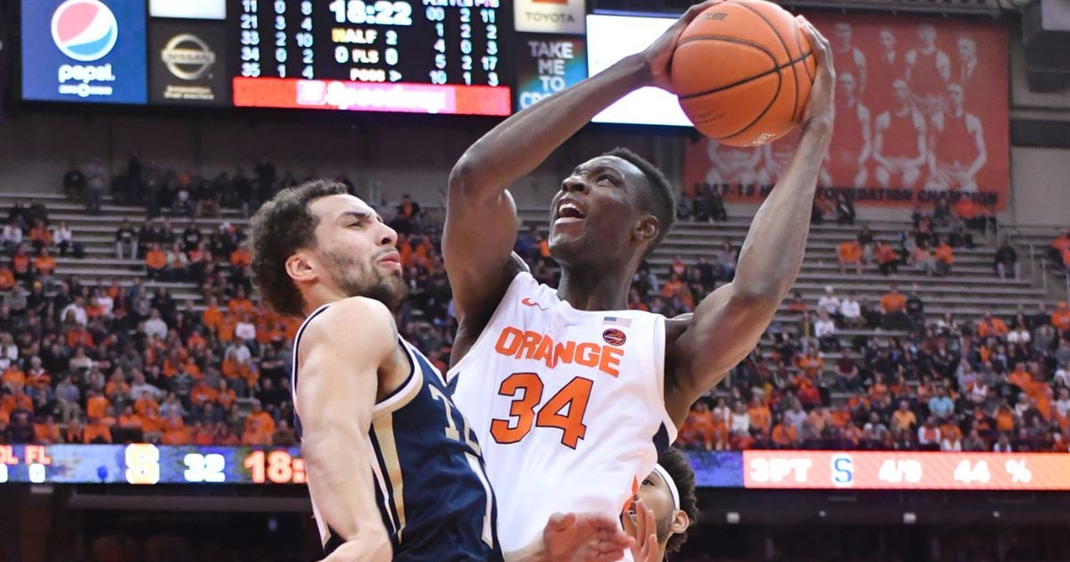 Syracuse overcomes 11 point deficit to beat Georgia Tech