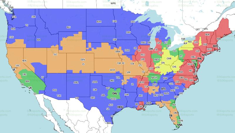 Cincinnati BengalsBuffalo Bills Coverage Map - Where is buffalo