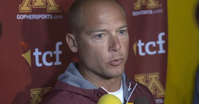 7 key quotes from Gopher Football coach PJ Fleck on August 7th