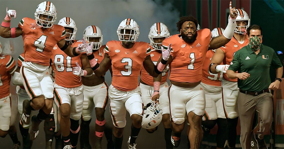 Miami drops to No. 12 in AP Poll at midway point