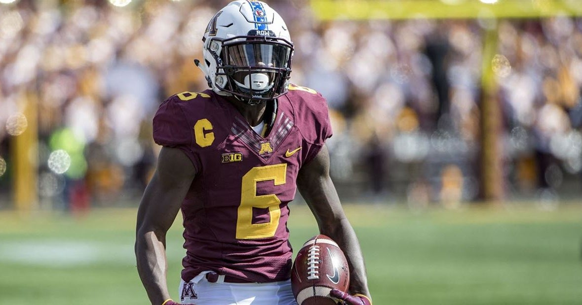 Minnesota Wr Tyler Johnson Drafted No 161 By Tampa Bay