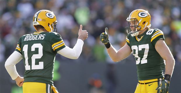 Report Aaron Rodgers Unhappy Packers Released Jordy Nelson