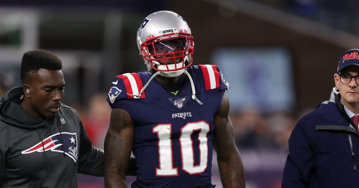 New England Patriots place Josh Gordon on Injured Reserve