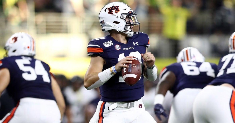 Bo Nix touchdown pass sends Auburn's title odds skyrocketing