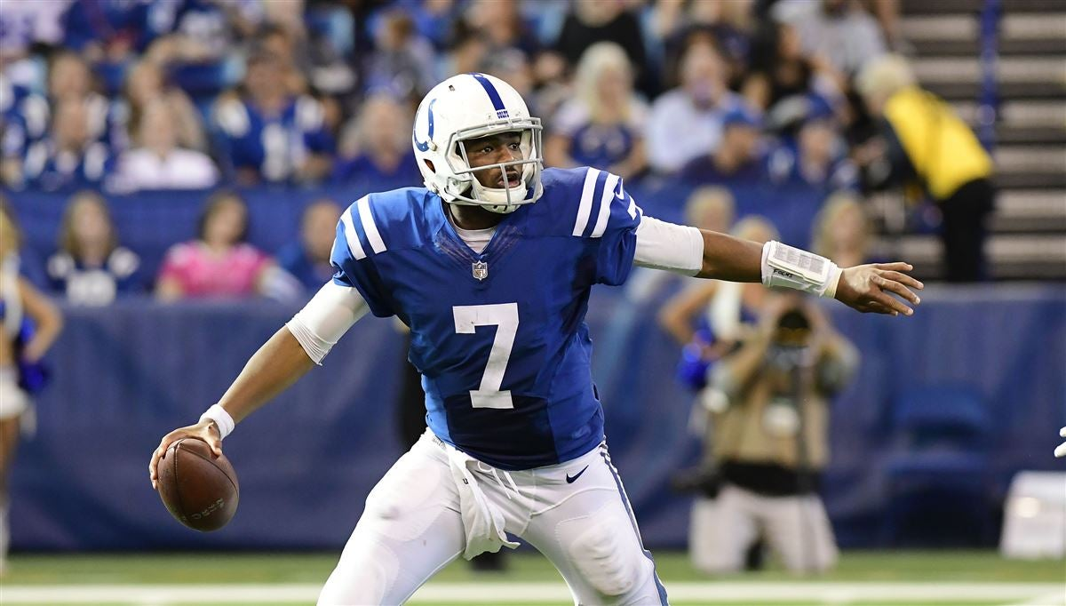 Report: Seahawks offered second-round pick for Jacoby Brissett