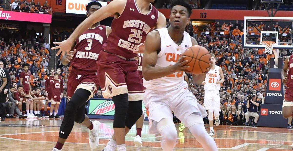 Recap Highlights Syracuse Tops Boston College At Home