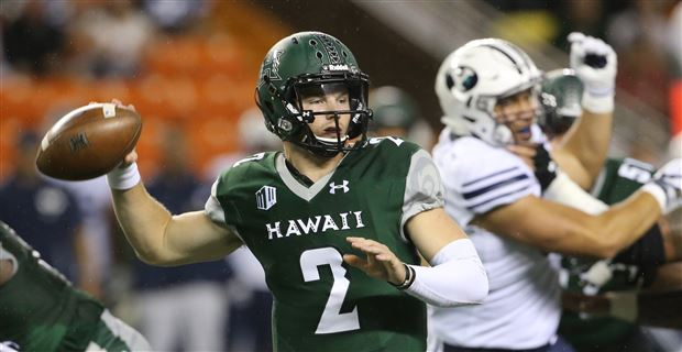 Hawaii QB Brown Could Head to Oklahoma State as Grad Transfer