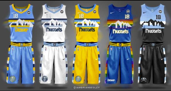 09c72123b3f Graphic artist creates NBA Nike uniform concepts for every team
