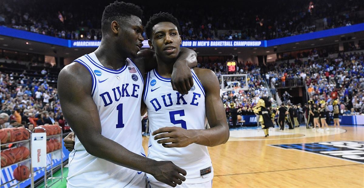 Image result for zion and rj nba draft