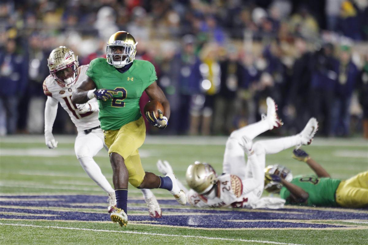Notre Dame Runs Past Fsu 42 13