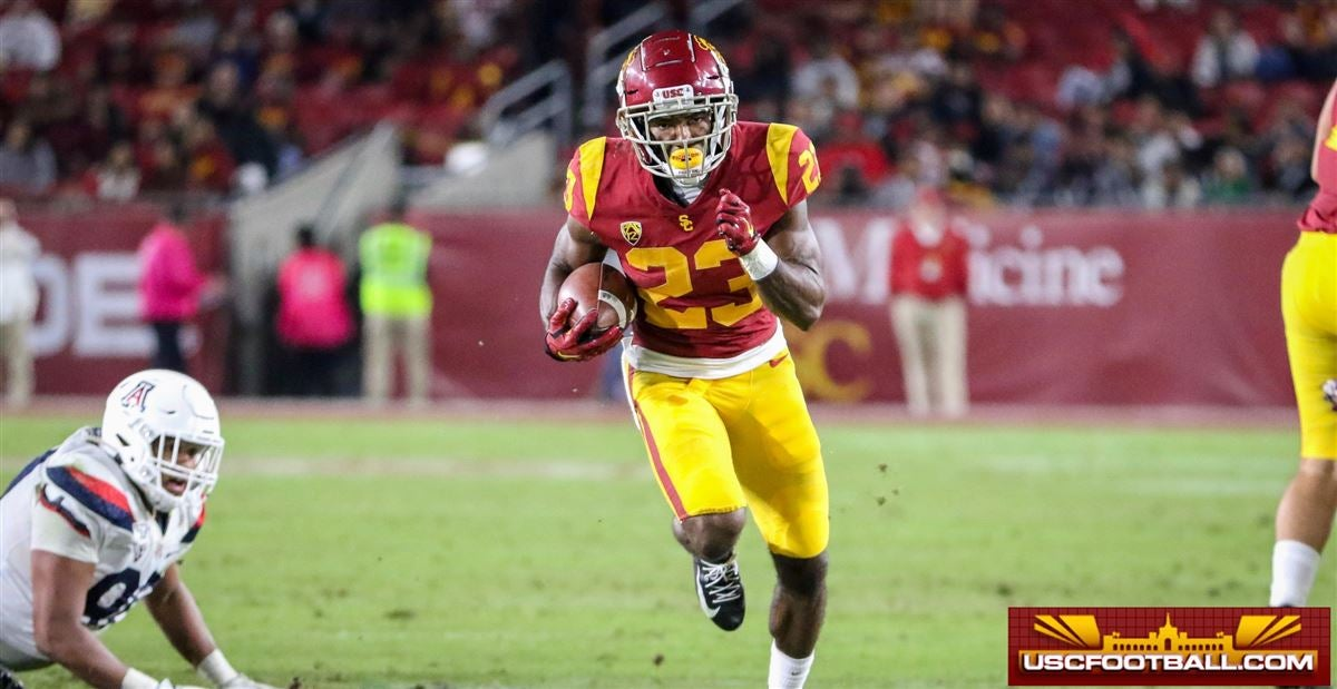 WATCH: Kenan Christon on his debut, bigger role on USC's offense
