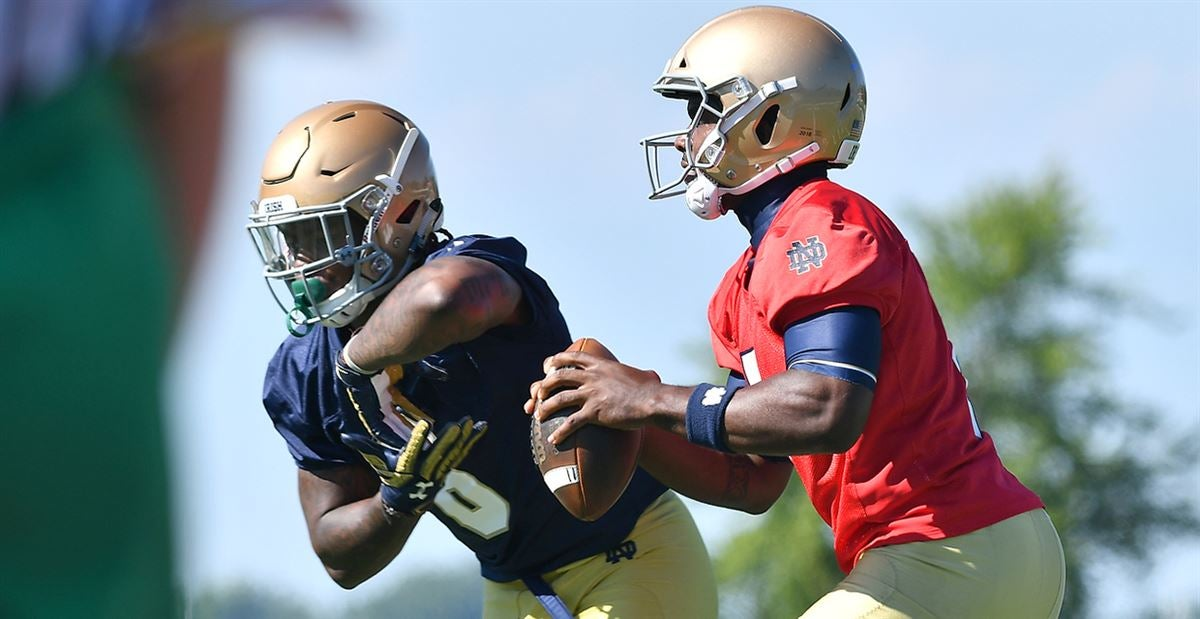 Who And What To Watch: Notre Dame's Open Practice