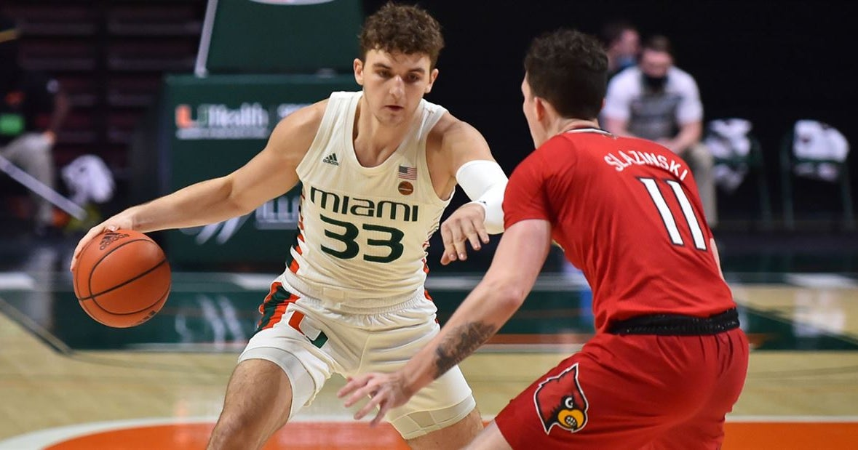 Former Miami forward Matt Cross commits to Louisville basketball