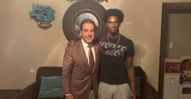 Who Nick Saban, staff saw this week on recruiting trail