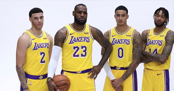 37357390a Highlights from Los Angeles Lakers media day