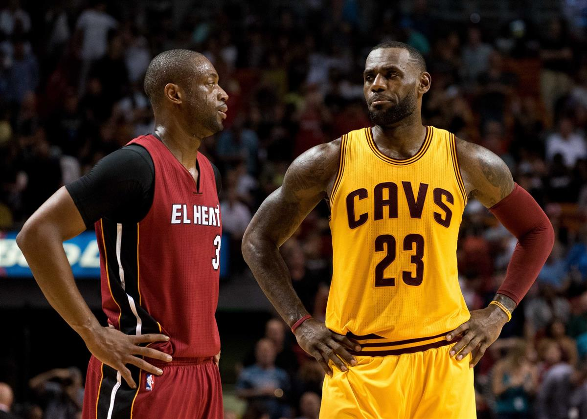 753d1dd0f2e Dwyane Wade says he knew LeBron James would sign with Lakers