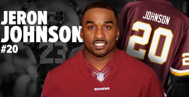 nfl Washington Redskins Jeron Johnson YOUTH Jerseys