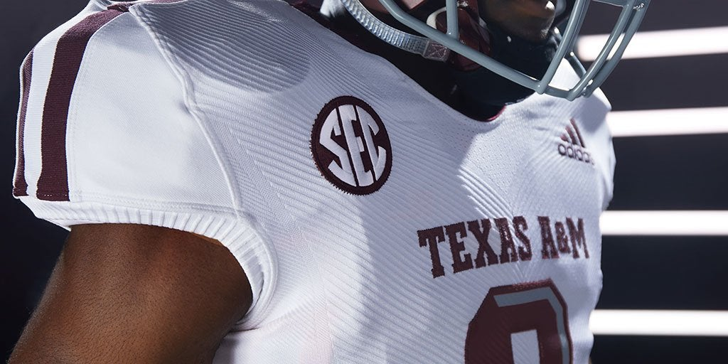 LOOK: adidas reveals new technology for A&M uniforms