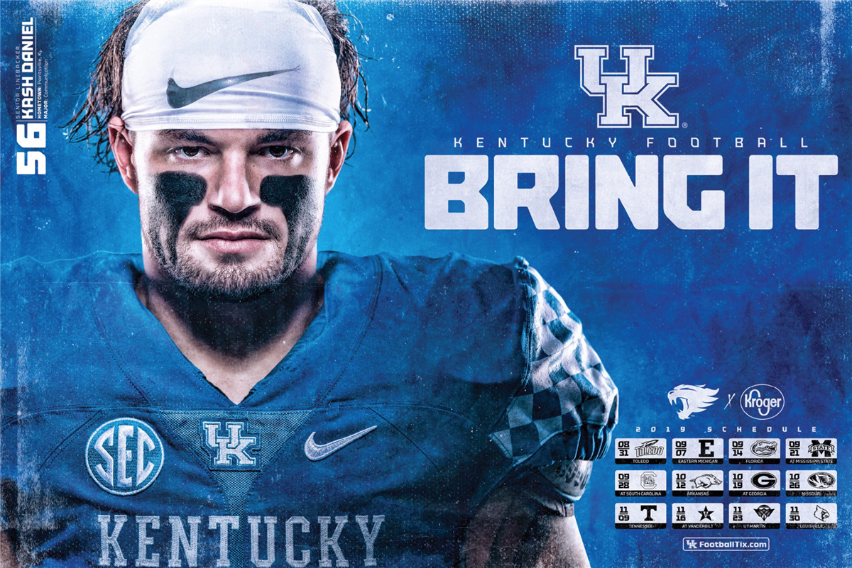 Kentucky Football Unveils Eight 2019 Posters